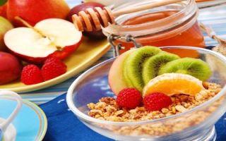 Основы правильного, здорового и сбалансированного питания