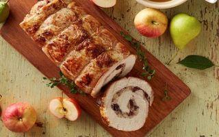 Как готовить рулеты из свинины с начинкой
