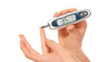 Питание и ограничения при сахарном диабете