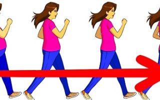 Сколько нужно ходить пешком чтобы похудеть зависит от количества еды
