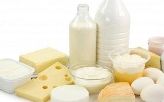 Молочные продукты в качестве диеты