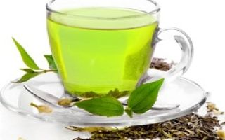 Калорийность зеленого чая с сахаром и молоком