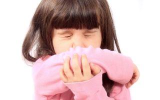 Если признаки ОРВИ у детей какие симптомы и лечение