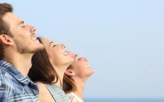Организму человека приносит пользу глубокое дыхание