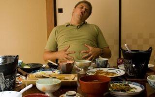 Чувство насыщения и выбор еды