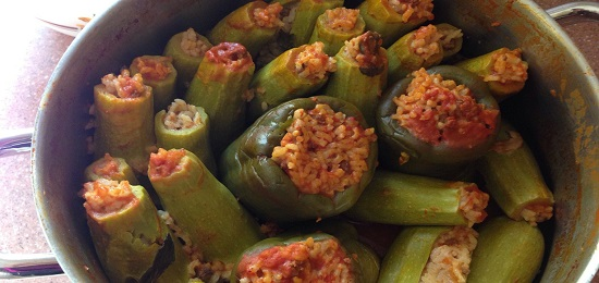 сытные блюда из кабачков