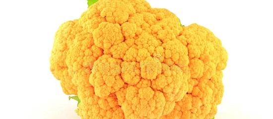 Оранжевая цветная капуста