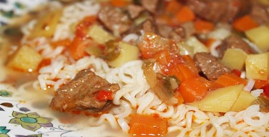 классическое узбекское блюдо