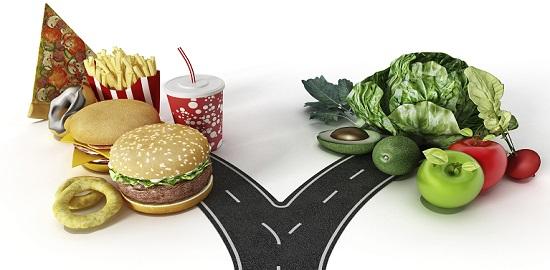 изменить рацион питания
