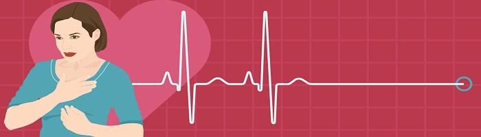 сердечного приступа у женщин