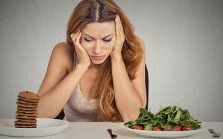 Еда от стресса и снятия напряжения