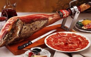 Хамон иберико: ключевые отличия и способ приготовления