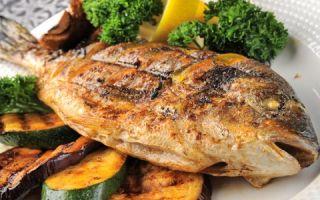 Полезная часть еды человека – рыба
