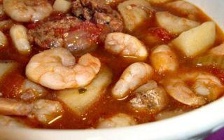 Простые рецепты готовки супа с креветками