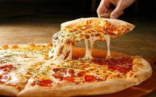 Привычная уже многими еда пицца