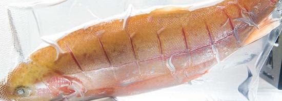 рыба в рукаве