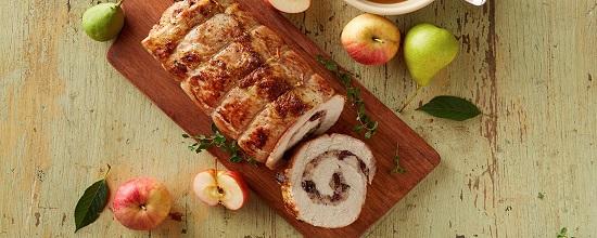 Рулеты из свинины с начинкой