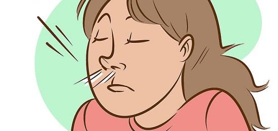 дышать ноздрями