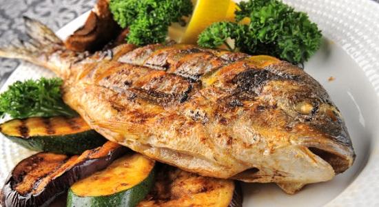 рыба полезная еда