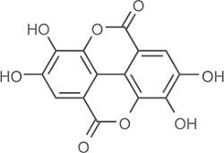 Формула эллаговой кислоты
