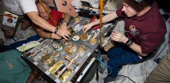 еда для космонавтов