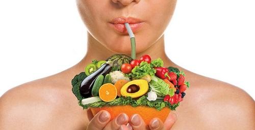 питание для чистой кожи