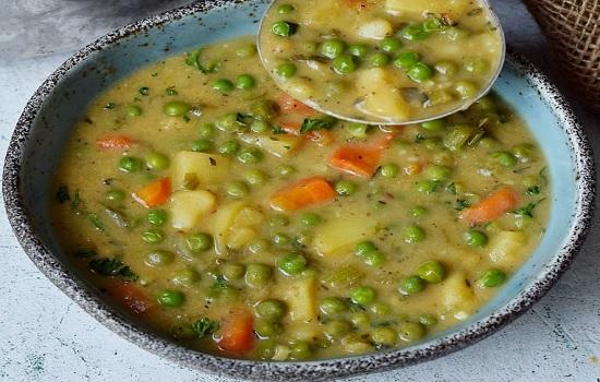Домашний овощной суп