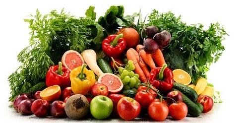 питание на фруктах и овощах
