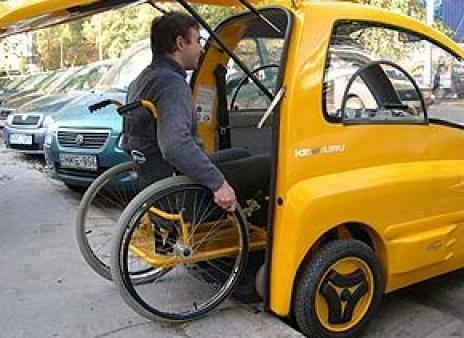 инвалидный электромобиль